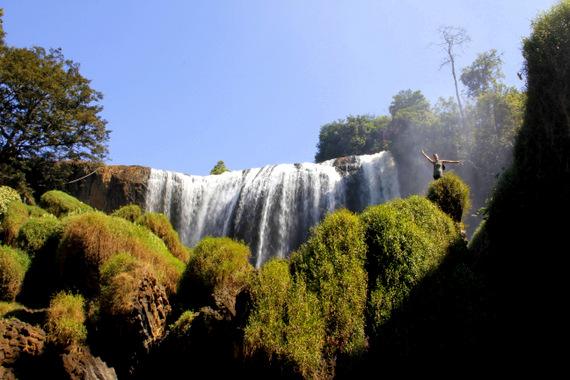 Elephant Falls Dalat Vietnam