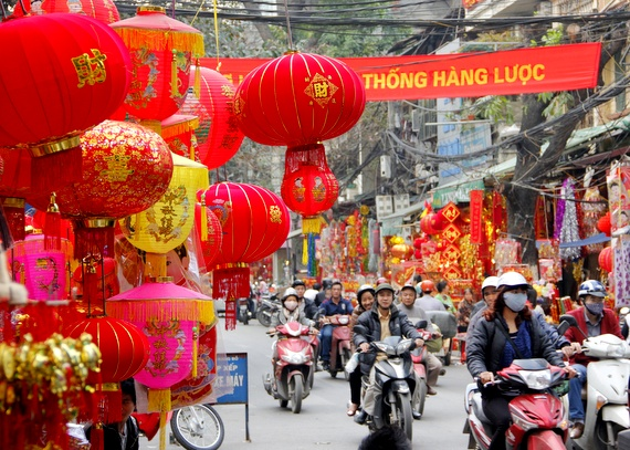 Tet New Year in Vietnam
