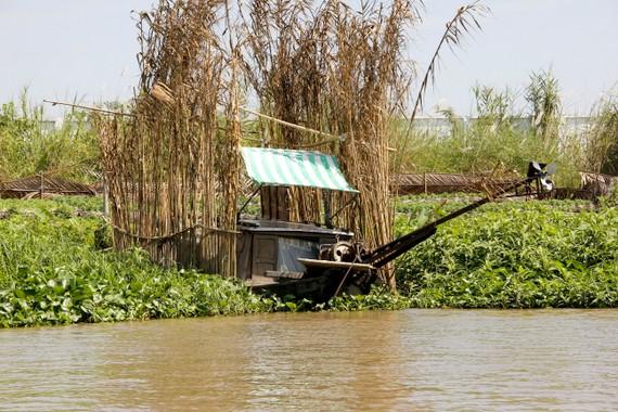 gargage made of reeds