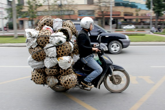 You Know You're In Vietnam When…