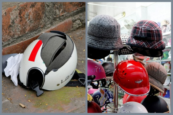 Vietnam fashion helmet