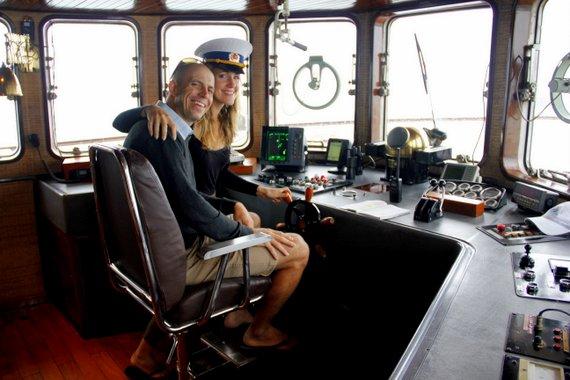 Mike & Anne Howard Cruising Halong Bay Vietnam