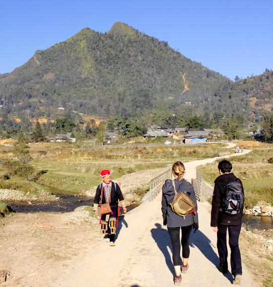 Hiking in Ta Phin Village Vietnam