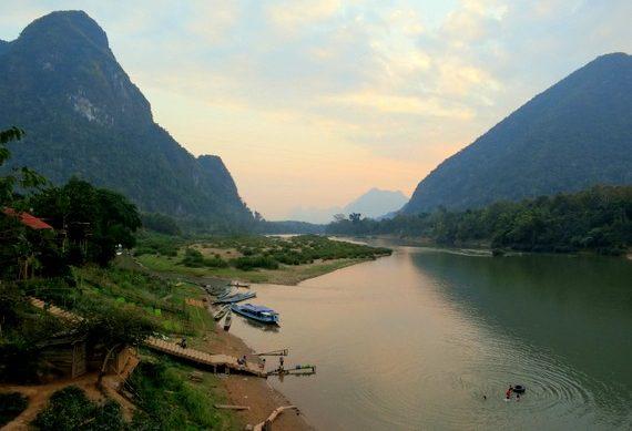 Nam Ou river towns