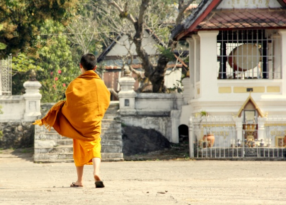 Monks at Luang Prabang