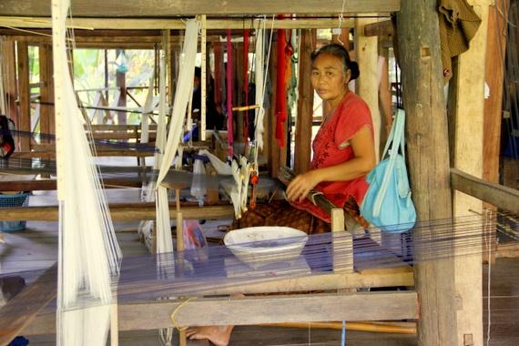 Ock pop tok Luang Prabang Laos