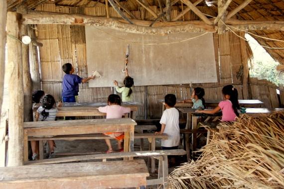 Teaching english in Muang Sing Laos