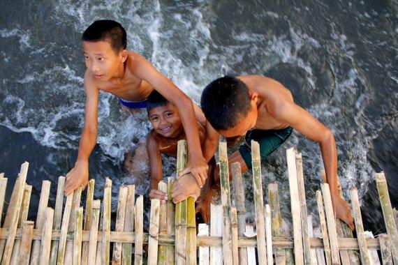 River Children of Laos