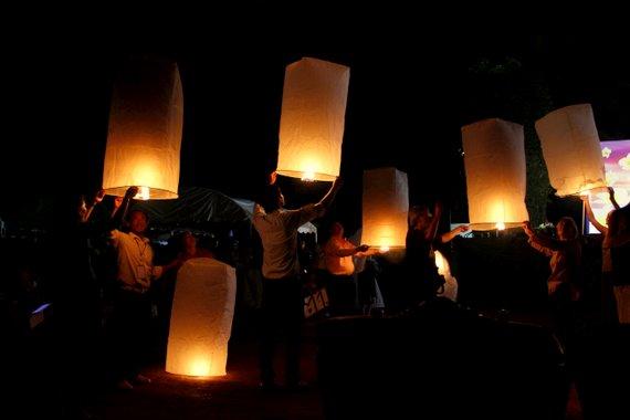 Lantern Festival Laos