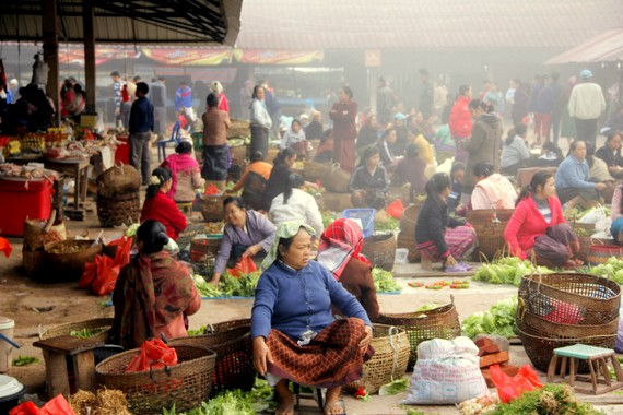 Muang Sing Market Hours, Laos