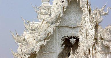 White Temple Exterior