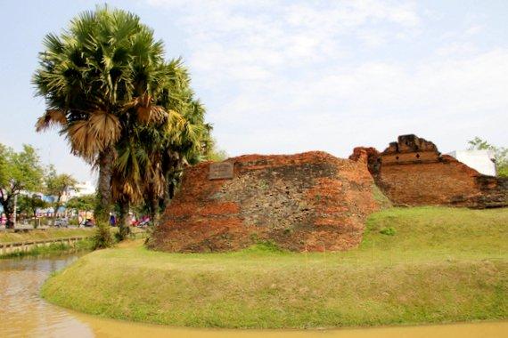 Chiang Mai walled city of Lanna Kingdom