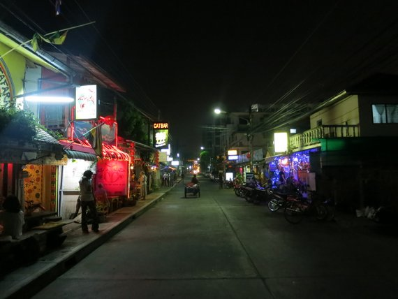 Nightlife in Chiang Rai, Thailand