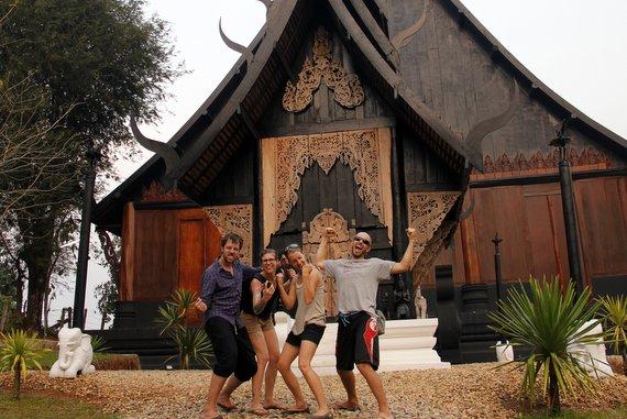 Black Temple Chiang Rai, Thailand