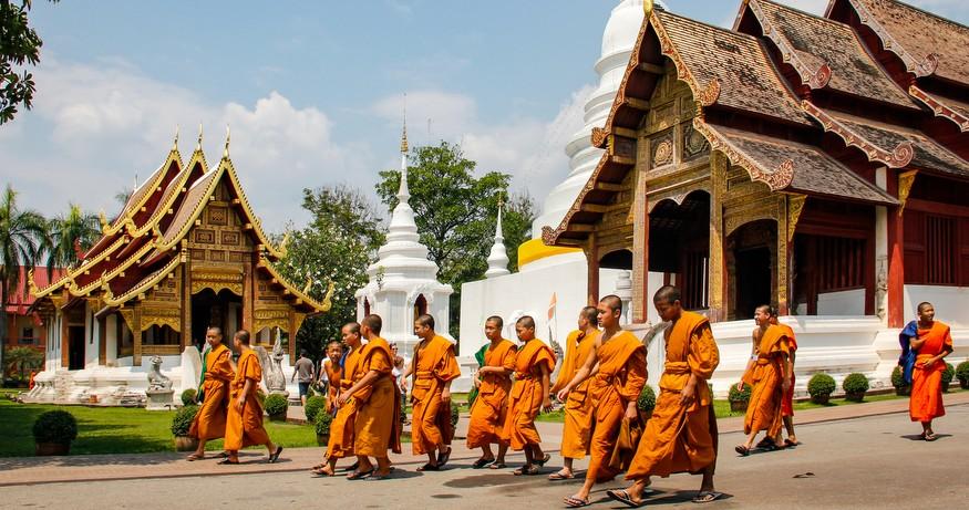 chiang mai, thailand temple