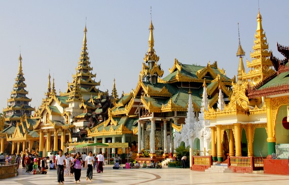 Shwedagon's design is absolutely dazzling with 82 buildings