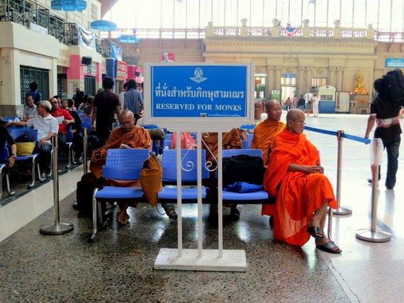 Reserved for Monks