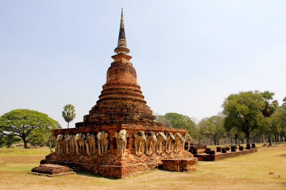 Wat Sorasak Sukhothai