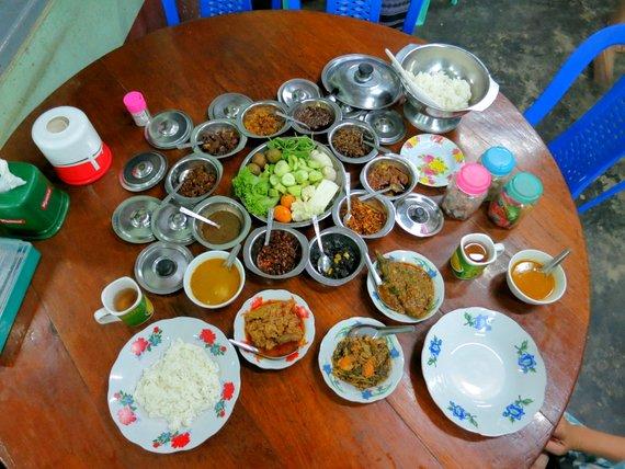 Dinner at San Ma Tau