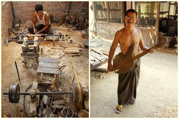 Making Guitars in Myanmar