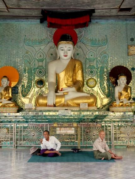 bago temple interior