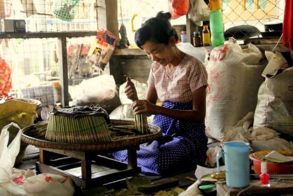 burmese cigar factory