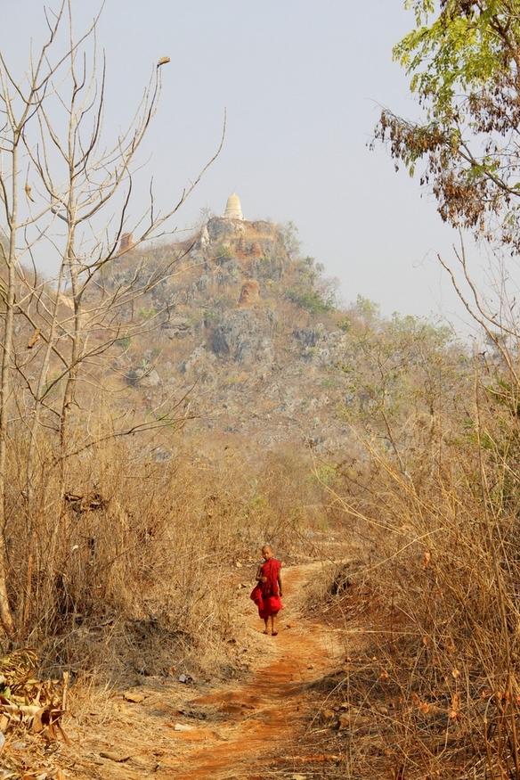 Indein pagoda, inle lake