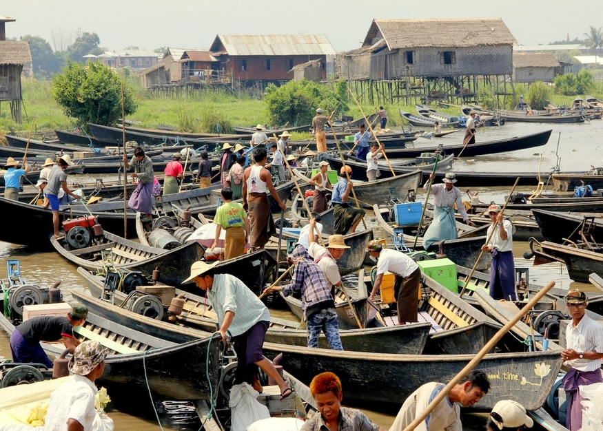 Five Day Market Inle Lake