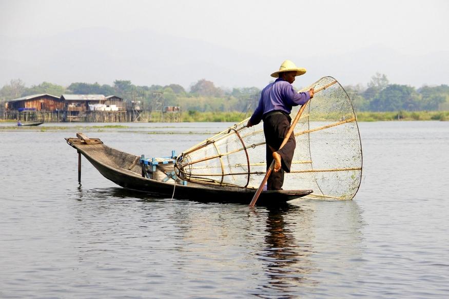 inle lake fishermen