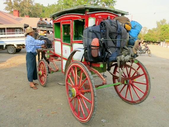 Horse Carts of Myanmar