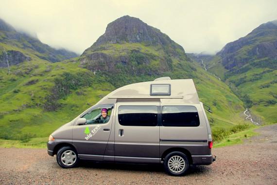 Campervanning The Scottish Highlands