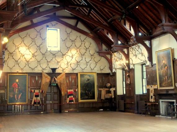 Blair Castle interior