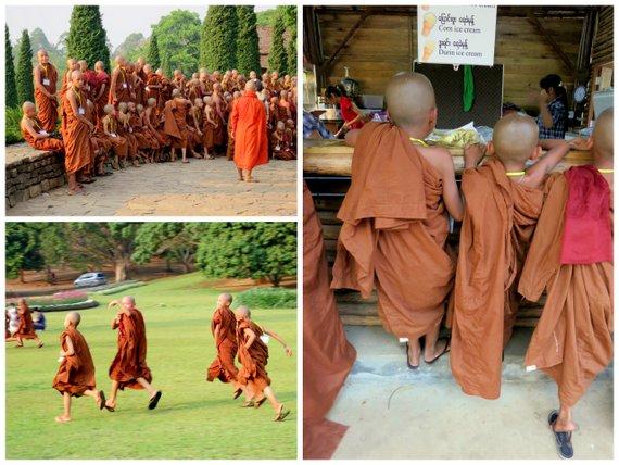 Lady Monks of Mynamar
