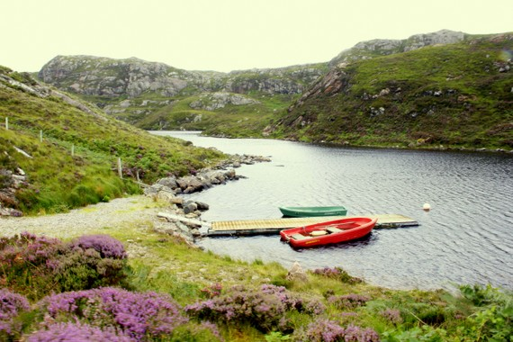 Boating the Scotland Lakes