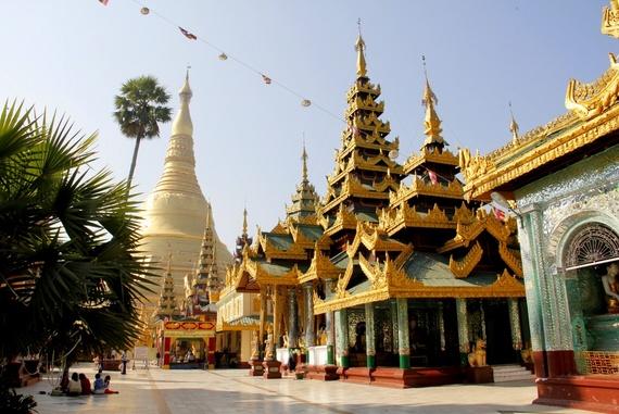 Shedagon Pagoda Myanmar