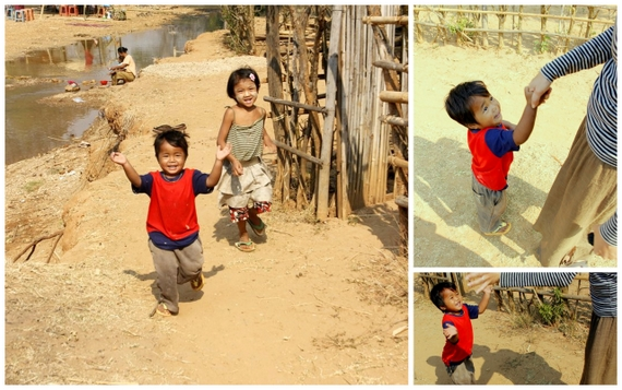 Happy kids of Myanmar