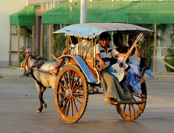 Horse carts of Myanmar