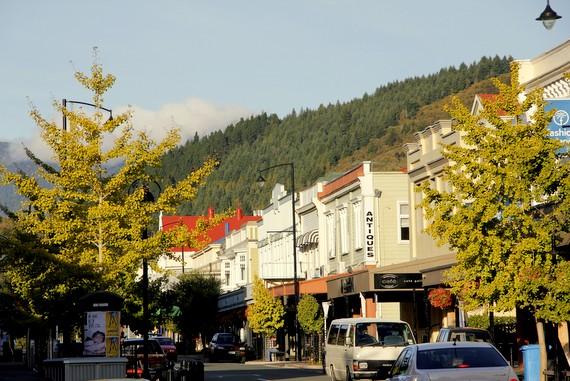Nelson NZ downtown