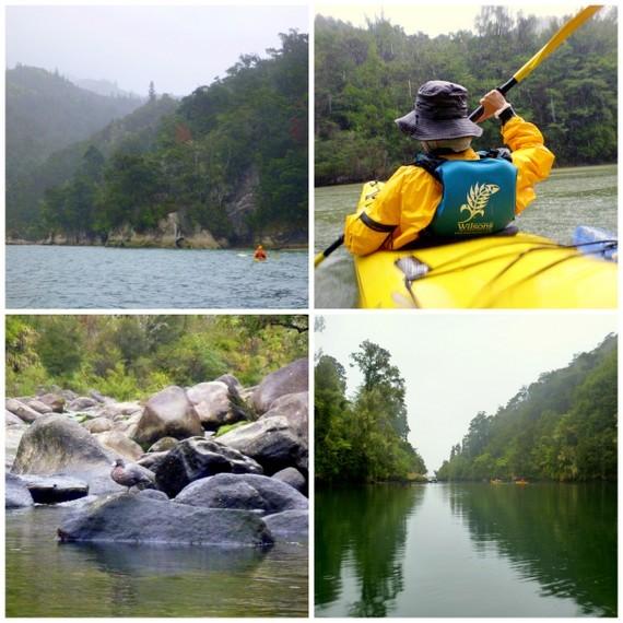 Abel Tasman - kayaking