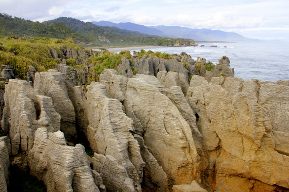 Pancake Rocks New Zealand
