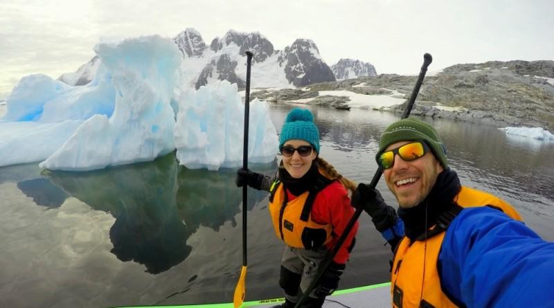 SUP Antarctica video