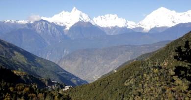 The Heavenly Meili Mountains