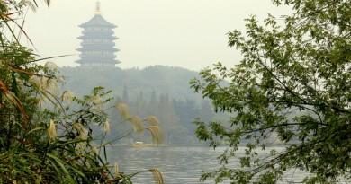 Lakeside in Hangzhou