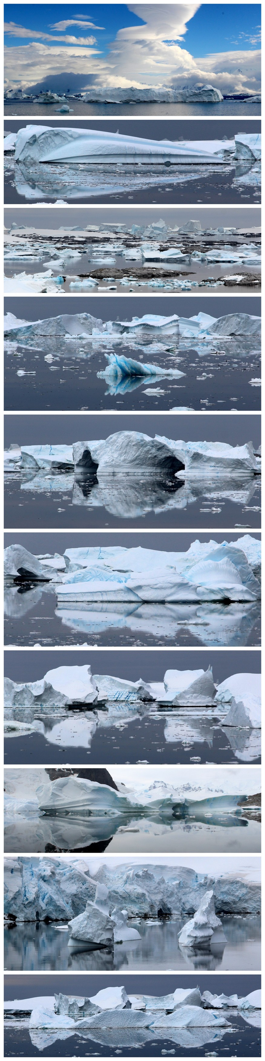 Antarctica Ice Panos