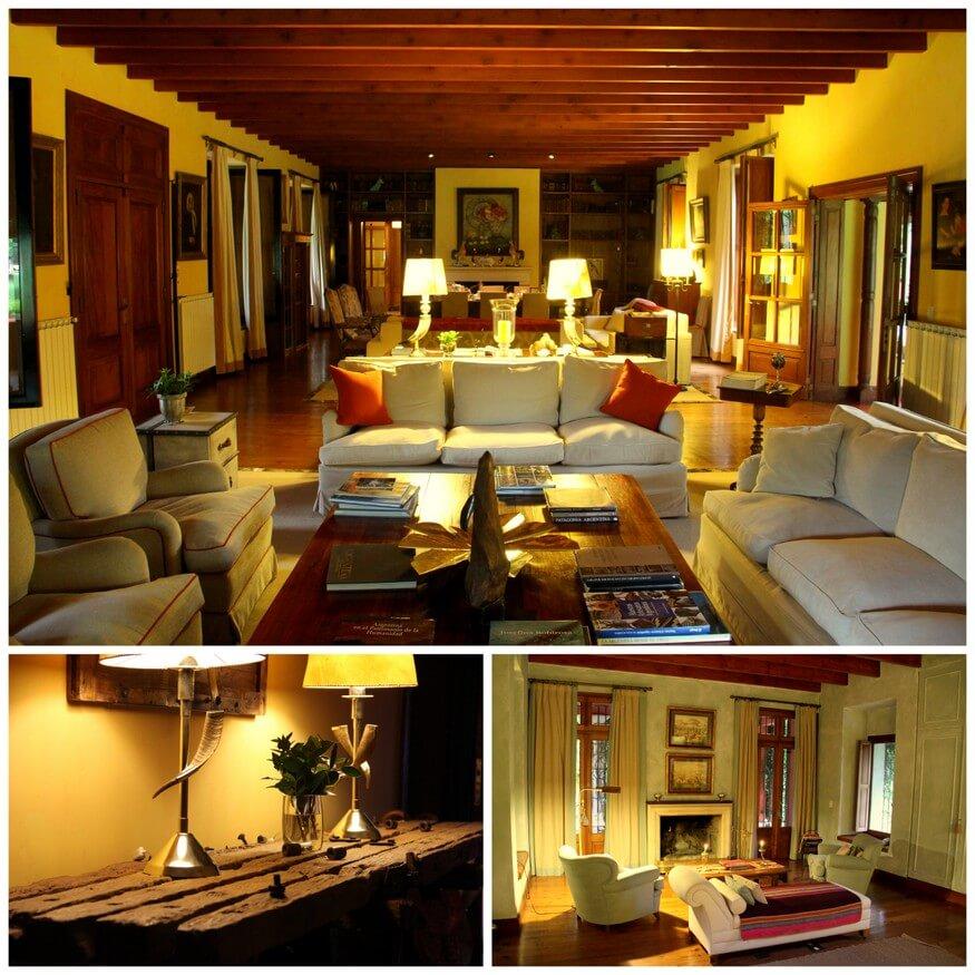 Interiors at Candelaria del Monte