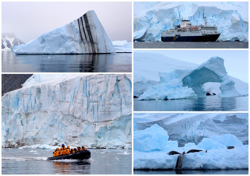 glaciers of Lemaire Channel