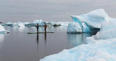 VIDEO: Standup Paddleboarding Antarctica