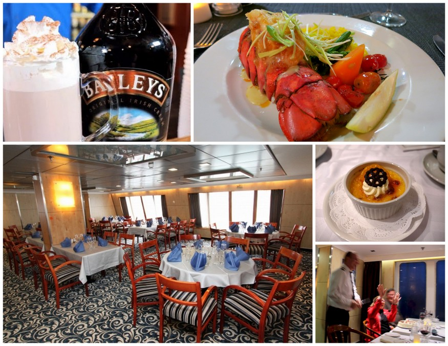 Quark Expeditions Dining