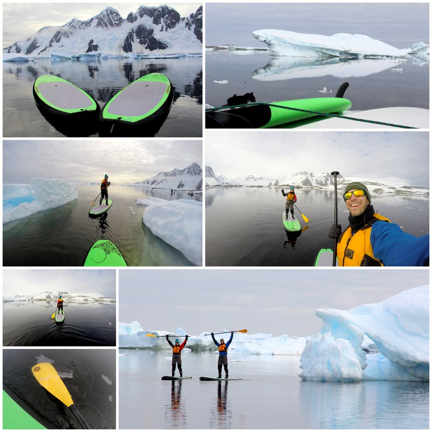 Standup Paddleboarding Antarctica