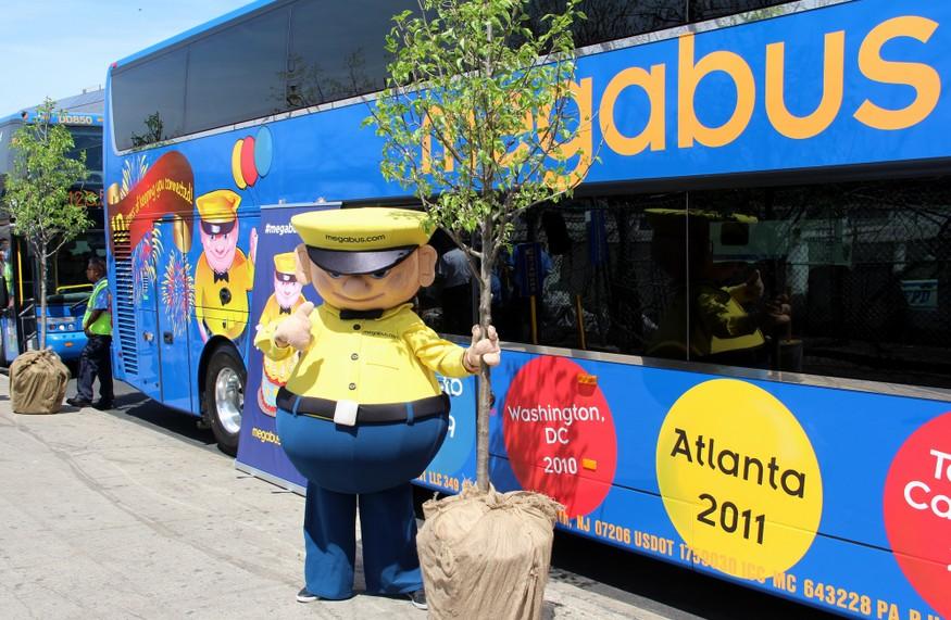 Megabus 10 Year